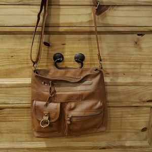 Adjustable Leather Croosbody Bag